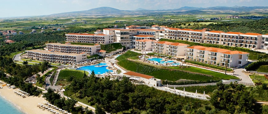 Transfer to Ikos Oceania Hotel